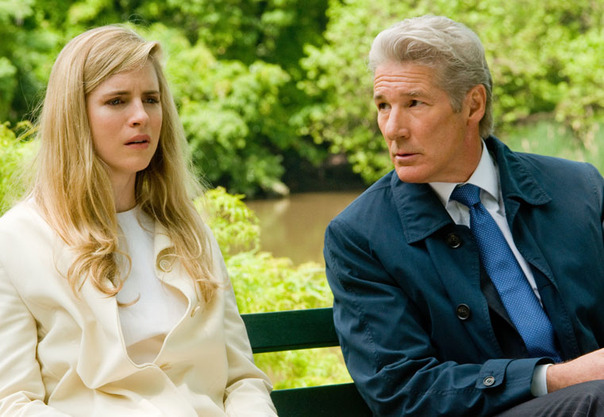 "Brit Marling and Richard Gere in ""Arbitrage"""
