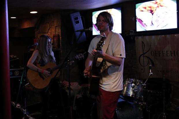 An LA band in a Utah bar.