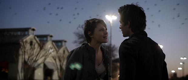 Amy Seimetz and Shane Carruth in Upstream Color.