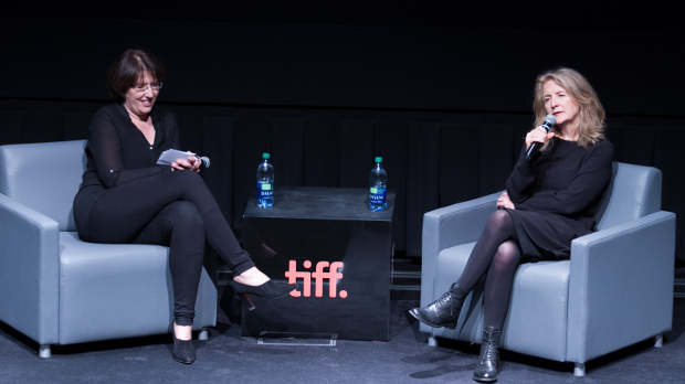 Potter with host Johanna Schneller