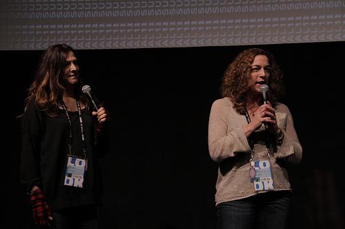 Directors Lori Silverbush and Kristi Jacobson