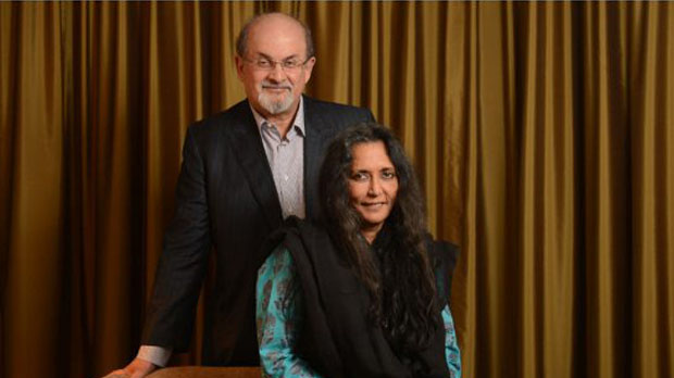 Midnight's Children collaborators Salman Rushdie and Deepa Mehta