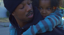 Michael B. Jordan and Ariana Neal in Fruitvale Station