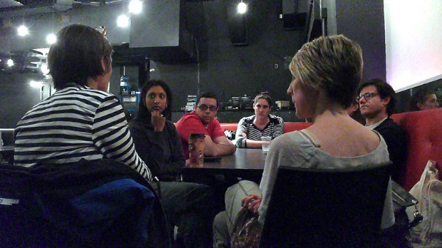 A breakout session at the IFP Narrative Lab.