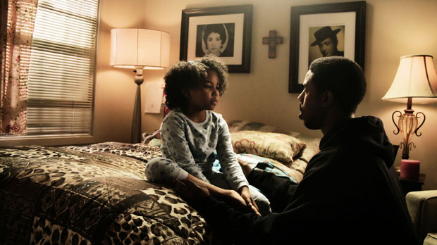 Ariana Neal and Michael B. Jordan in Fruitvale Station