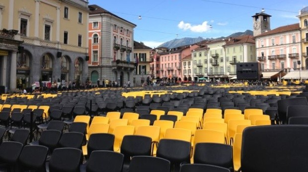 The Piazza at Locarno