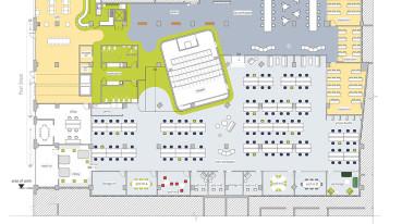 """IFP """"Made in NY"""" Media Center Floor Plan"""
