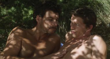 """Christophe Paou, Pierre Deladonchamps in """"Stranger by the Lake"""""""