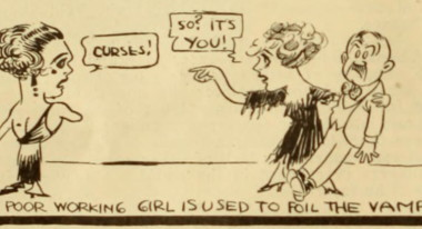 An ideological gloss on the vamp, from Motion Picture World, August 1918.
