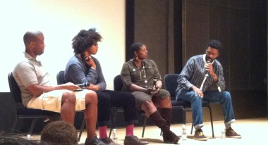 'New Black Voices' Panel at the Independent Filmmaker Conference