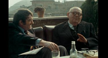 """Claude Lanzmann, Benjamin Murmelstein in """"The Last of the Unjust"""""""