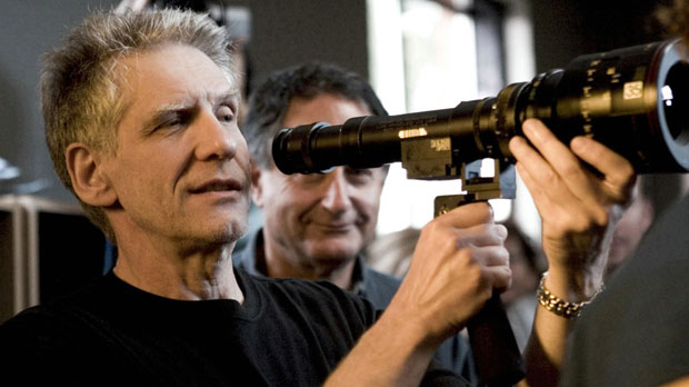 David Cronenberg with Peter Suschitzky
