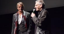 Jeremy Irons and David Cronenberg. (Photo courtesy of TIFF.)
