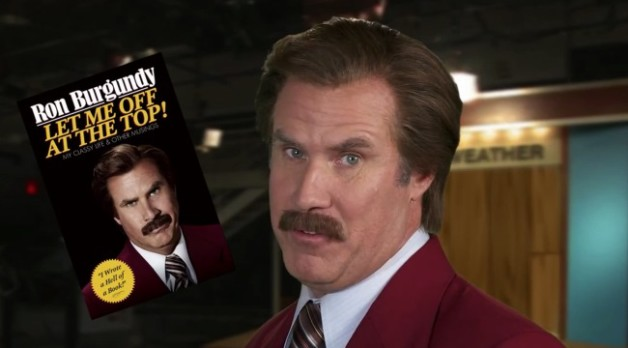 I'm Ron Burgundy?