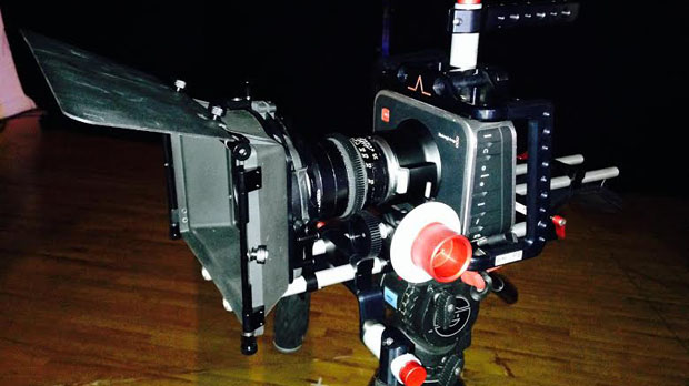 The BlackMagic Production Camera 4K (Photo by Graham Winfrey)