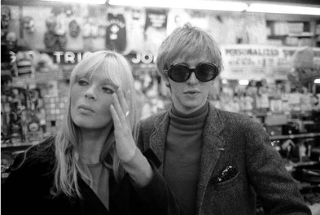 Rene and Nico photographed by Gerard Malanga.