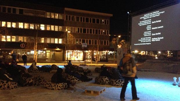 A 3pm outdoor screening at the Tromsø International Film Festival