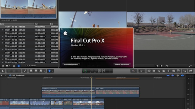 how to make selection in final cut pro