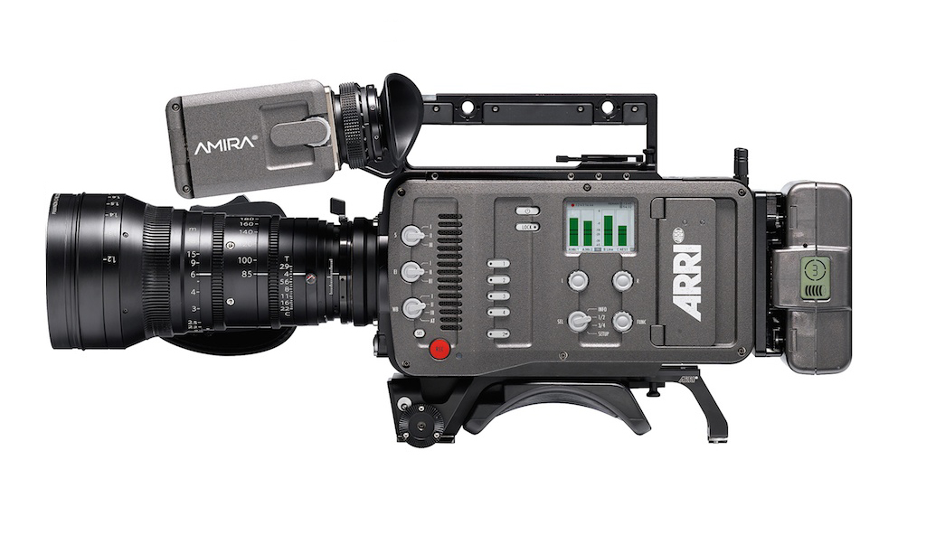ARRI Alexa with all controls moved to the operator side.