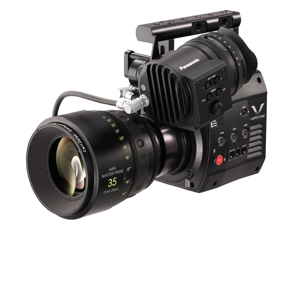 VariCam 35 head. Don't forget to attach the recorder!
