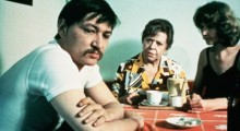 Fassbinder (left) in Ali, Fear Eats the Soul