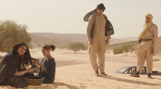 Timbuktu: (l-r) Toulou Kiki, Layla Walet Mohamed, Abel Jafri, unknown