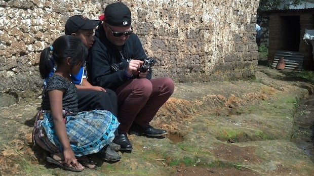 Director Richard Goana in Guatemala