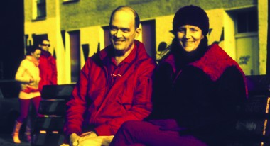 Bill Binney and Laura Poitras (Photo by Jacob Applebaum)