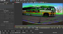 The Lens Distortion module in Mocha Pro