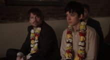 Ethan Hawke and Asa Butterfield in Ten Thousand Saints