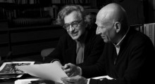 Wim Wenders and Sebastião Salgado in Salt of the Earth