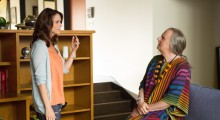Amy Landecker and Jeffrey Tambor in Transparent (Photo courtesy of Amazon Studios)