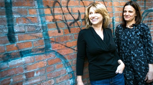 Anne Hubbell and Amy Hobby