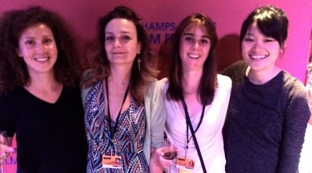 (left to right) Marie Zeniter, Ula Śniegowska, Adeline Monzier, Chantal Lian.
