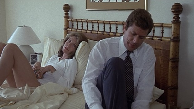 Jill Clayburgh and Michael Murphy in An Unmarried Woman