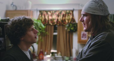 Jesse Eisenberg and Jason Segel in The End of the Tour (Photo by Jakob Ihre, courtesy of A24)