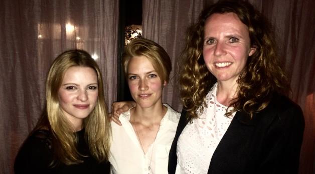 Jenny Urich, Linnea Saasen, Ineke Hagedorn.