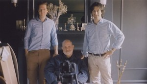 Jake Paltrow, Brian De Palma and Noah Baumbach (this image is not in the film)