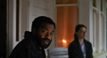 Chiwetel Ejiofor and Margot Robbie in Z For Zachariah