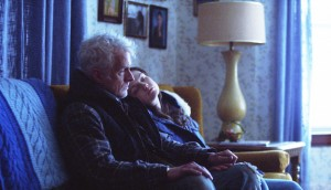 John Slattery and Louisa Krause in Bluebird