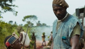 Abraham Attah and Idris Elba in Beasts of No Nation