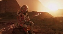 The Martian, a movie which is bright