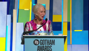 Helen Mirren at the Gotham Independent Film Awards
