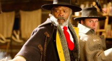 Samuel L. Jackson, Walton  Goggins in The Hateful Eight