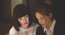 Kate Lyn Sheil and Riley Keough in The Girlfriend Experience