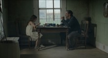 Oona Laurence and Ross Partridge in Lamb