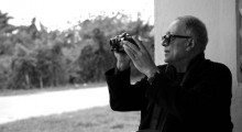Abbas Kiarostami (Photo by Sholeh Zahraei)