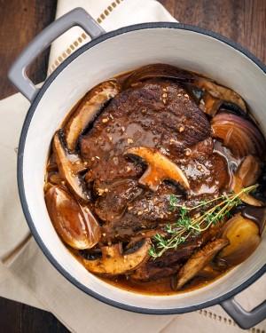 A portabella pot roast