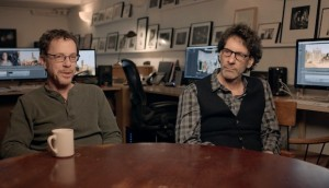Ethan and Joel Coen (left to right)
