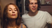 Isabelle Huppert and Jesse Eisenberg in Louder than Bombs